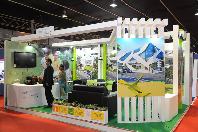Exhibition Stall Fabricators In Nagpur : Crew events a key to event management